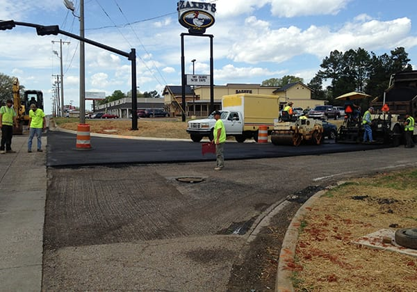 South Parkway Intersection improvements